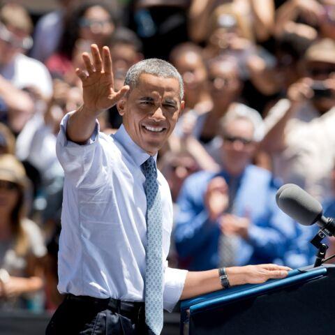 Barack Obama et son cadeau pour le prince George