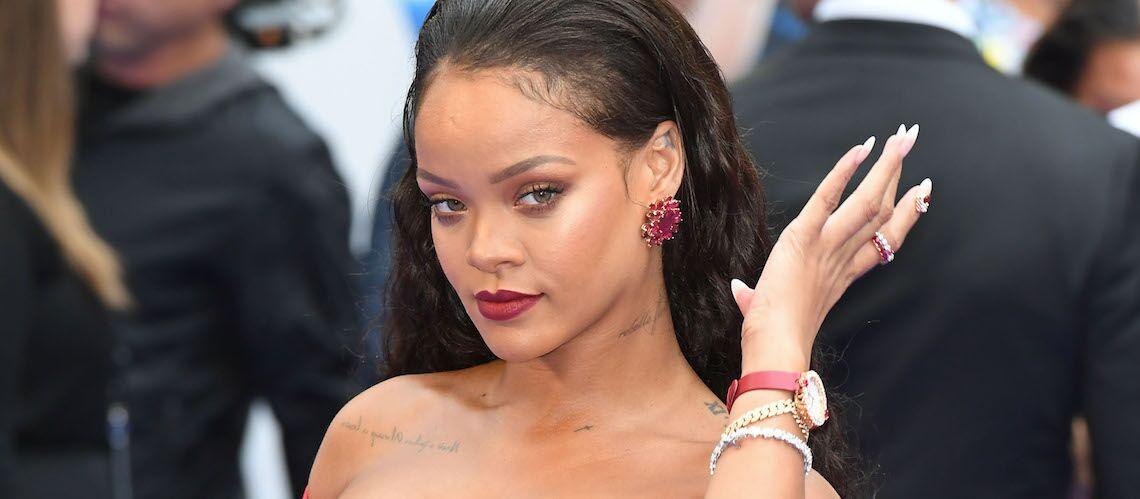 PHOTOS – Rihanna enceinte: Les rumeurs enflent à l'avant-première de Valerian