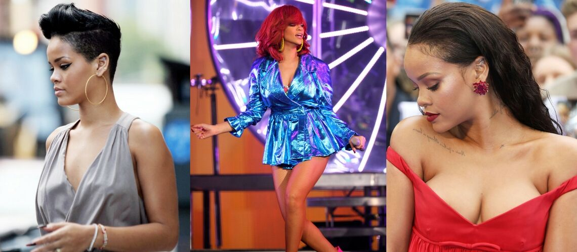 PHOTOS – Rihanna: depuis ses débuts, la star de «Valerian» a bien évolué