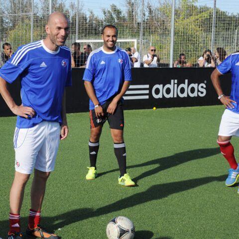 Zinédine Zidane: un anniversaire entre amis et ballon rond