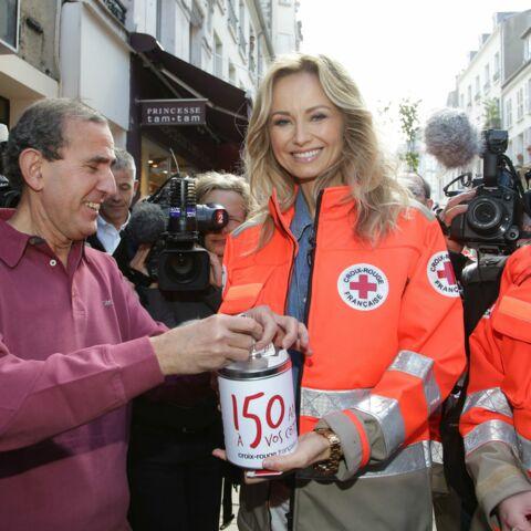 Photos- Adriana Karembeu, toujours au côté de la Croix-Rouge