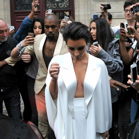 Photos- Kim Kardashian et Kanye West se sont dit oui!