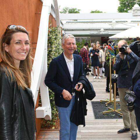 Anne-Claire Coudray radieuse à Roland-Garros