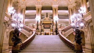 Opéra Garnier: drone d'endroit pour une rencontre