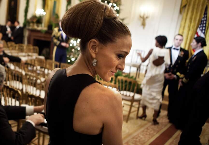 Et guest star à la Maison Blanche