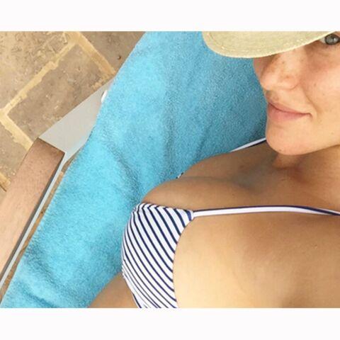 Bar Refaeli: la photo choc de sa grossesse