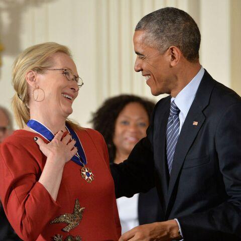Barack Obama: «J'aime Meryl Streep»