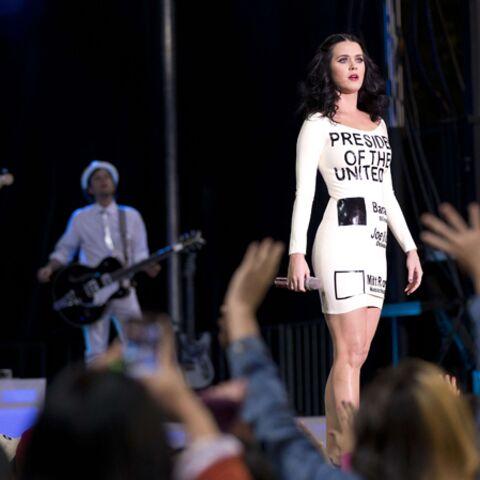 Katy Perry chante son amour pour Barack
