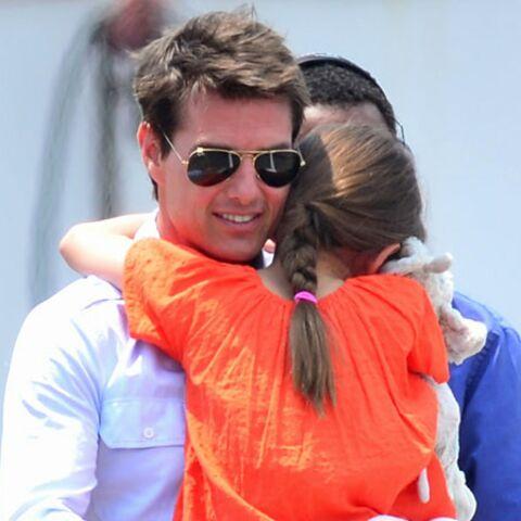 Tom Cruise en Papa Noël pour Suri