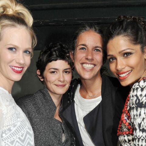 Photos – Audrey Tautou, Freida Pinto à la fête pour Isabel Marant x H&M