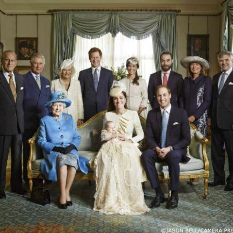 Baptême du prince George: les photos officielles dévoilées