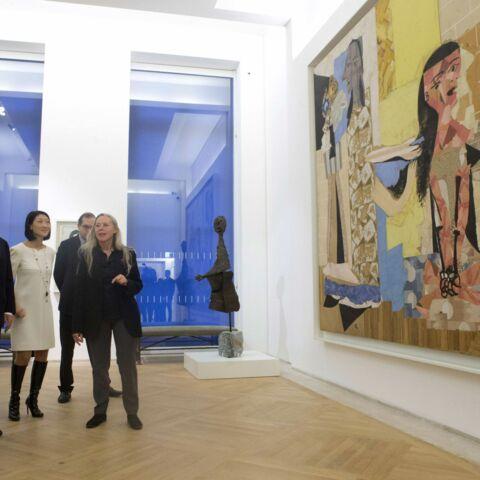François Hollande à l'inauguration du nouveau Musée Picasso