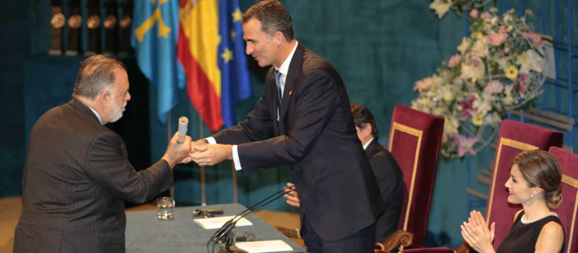 Letizia et Felipe d'Espagne récompensent Francis Ford Coppola