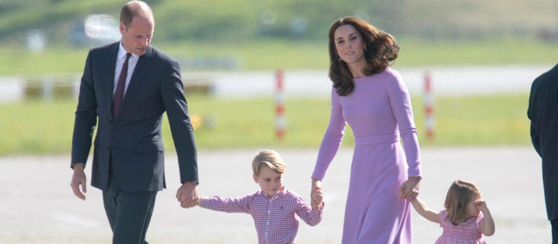 Le Prince George Est En Vacances Le Prince William Et