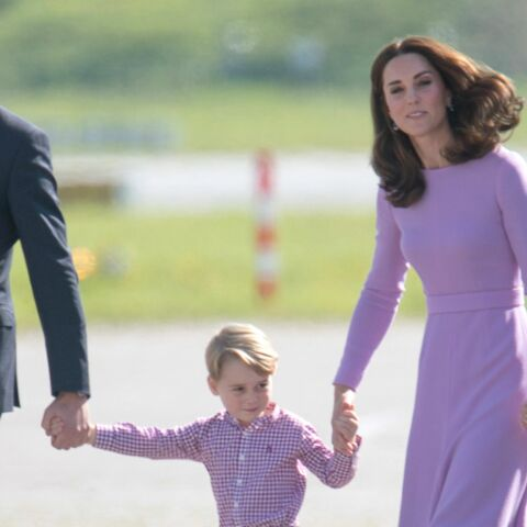 Le prince George est en vacances: le prince William et Kate Middleton en famille
