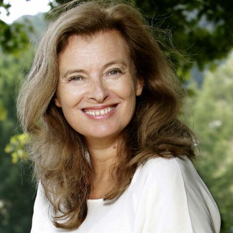 PHOTO – Valérie Trierweiler de retour à l'Élysée pour «son»président