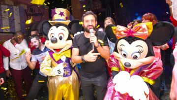 Photos – Cyril Hanouna fête son anniversaire chez Mickey