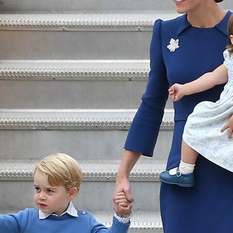 La princesse Charlotte vole la vedette à son frère George