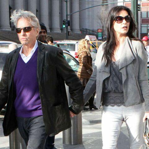 Michael Douglas voudrait divorcer de Catherine Zeta Jones