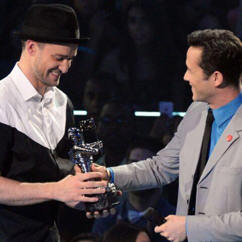 Photos- Justin Timberlake grand vainqueur des MTV Vidéo Music Awards