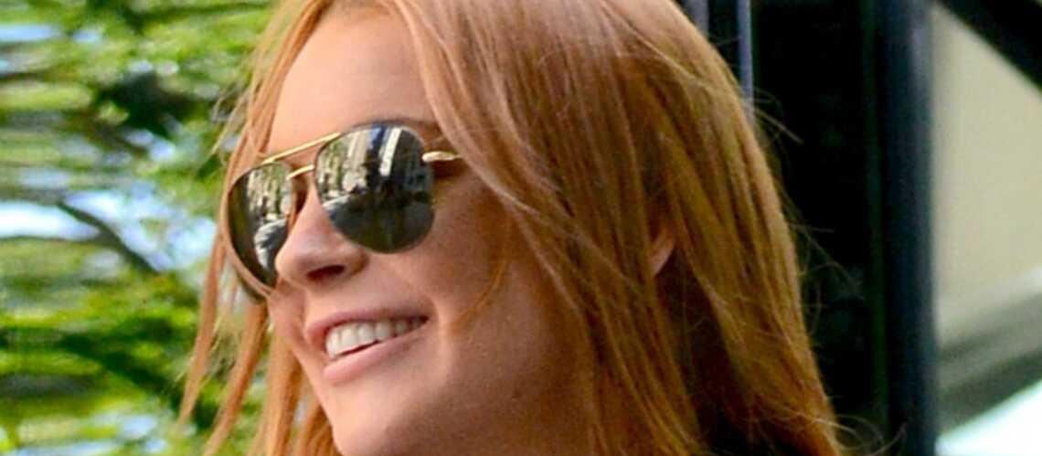 Lindsay Lohan lance son site