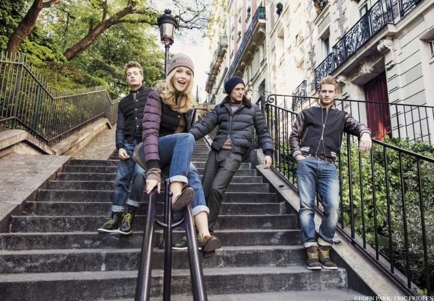 Raphaëlle Dupire incarne la campagne pleine d'énergie d'Eden Park