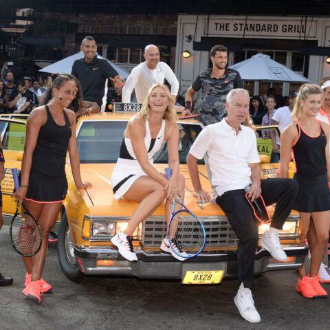 Andre Agassi et Pete Sampras réunis au Nike Street Tennis