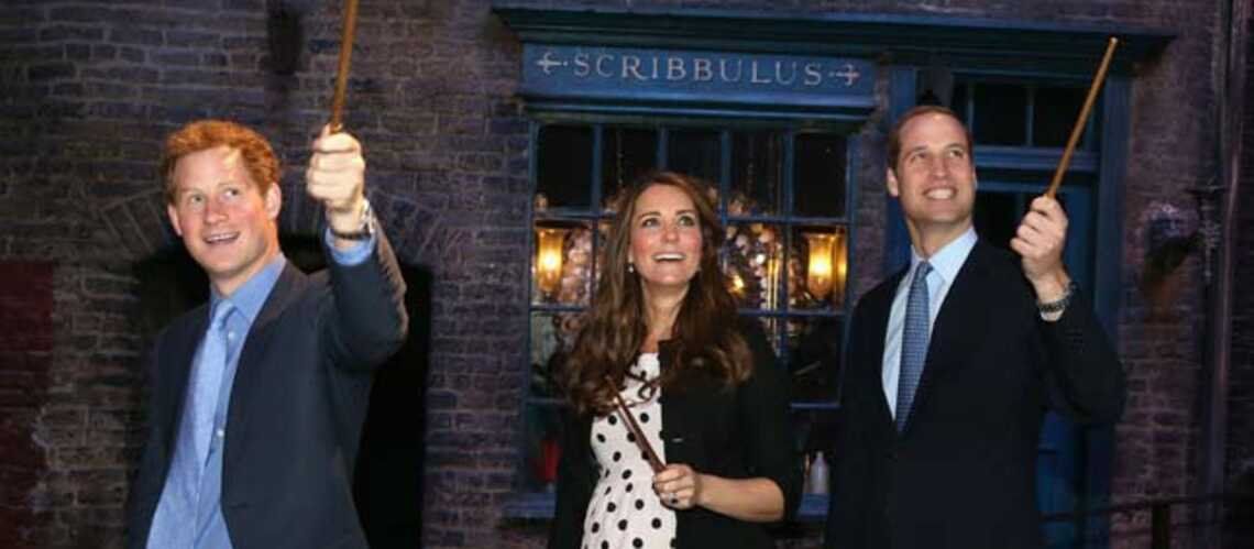 Photos – Kate, William et Harry à l'école des sorciers