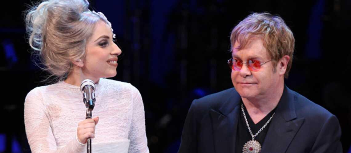 Lady Gaga fâchée avec Elton John