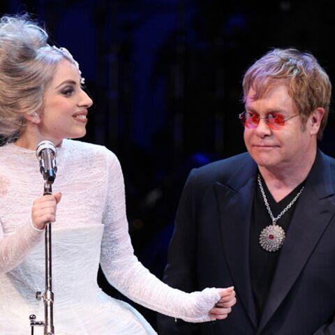 Lady Gaga, marraine parfaite pour Elton John