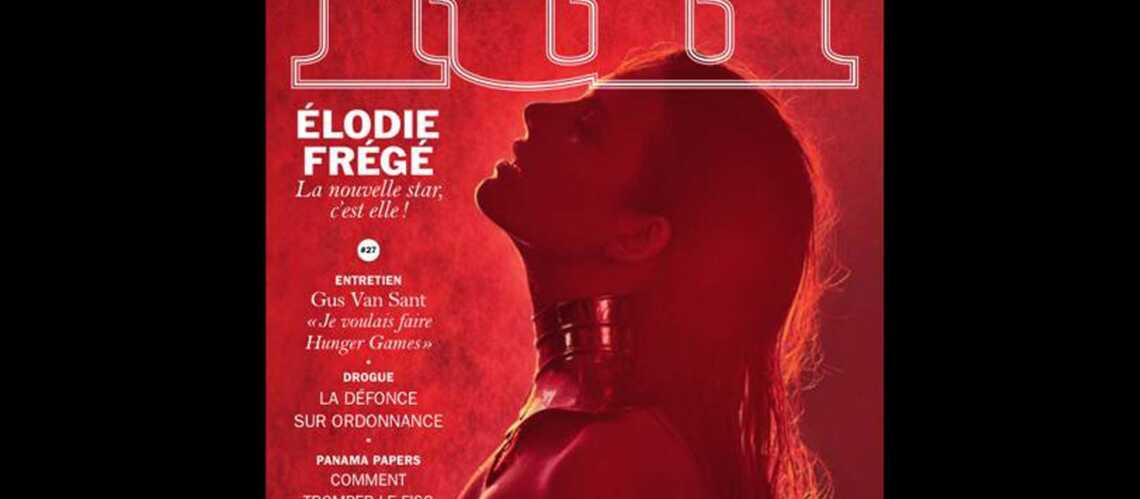 Elodié Frégé pose topless en Une de Lui