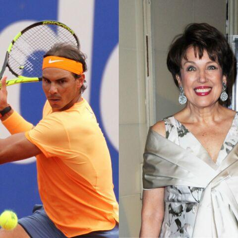 Roselyne Bachelot se prend un revers de Rafael Nadal