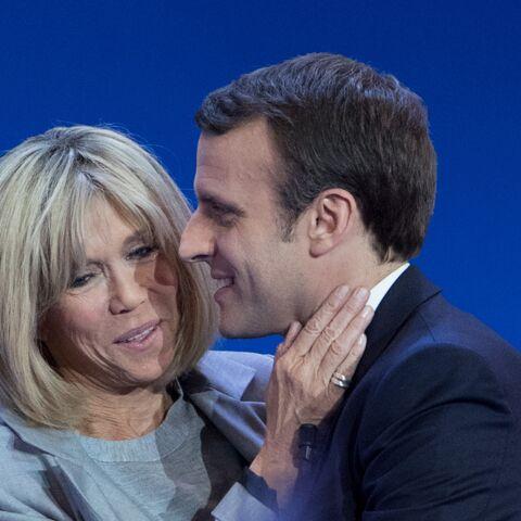 PHOTOS – Brigitte Macron «Une Wonder Woman en mini jupe et talons», son style atypique étonne les Anglais