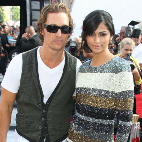 Matthew McConaughey va épouser Camilla Alves