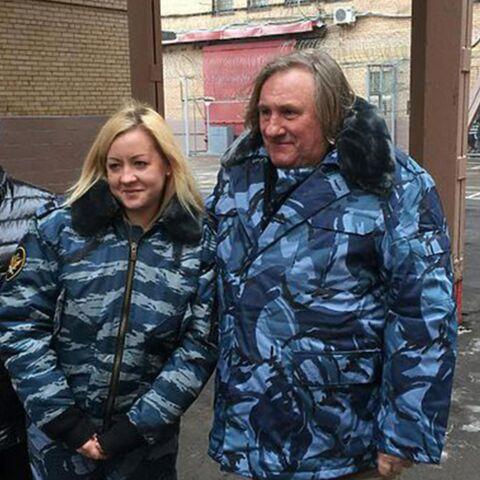 Gérard Depardieu en prison pour Noël