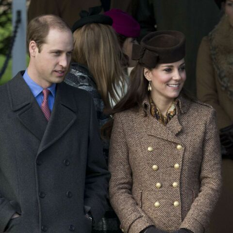 Kate et William à la messe de Noël sans George