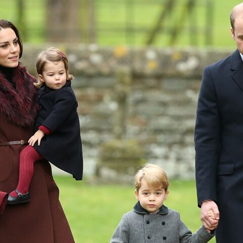 PHOTOS – Kate, William et les enfants: leur premier Noël loin de la Reine