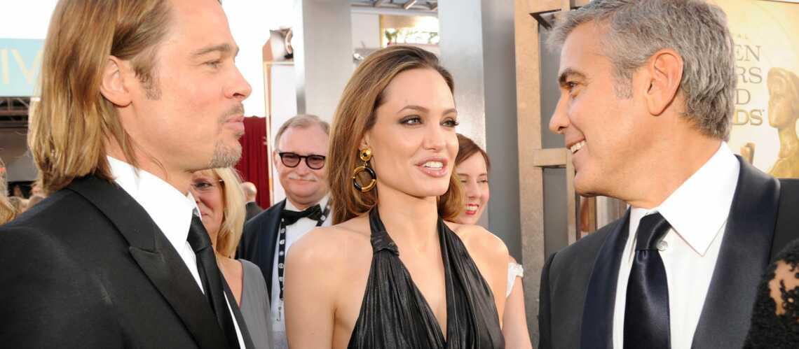 Brad Pitt et Angelina Jolie mariés par George Clooney?