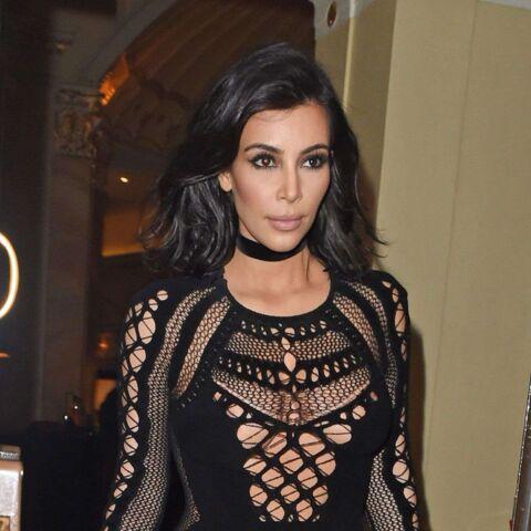 Kim Kardashian, sexy pour Kanye West aux Brit Awards