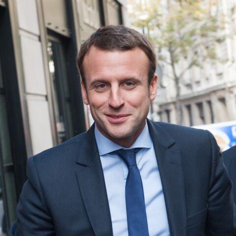 Emmanuel Macron: Comme une star à l'anniversaire de Line Renaud