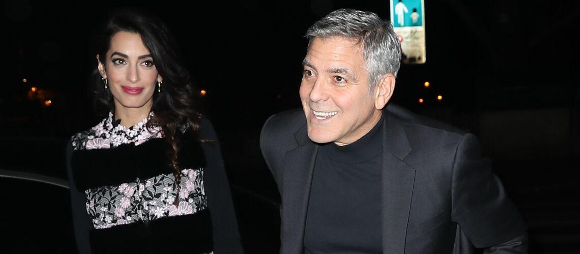 PHOTOS – Amal et George Clooney: leur escapade de luxe à Paris
