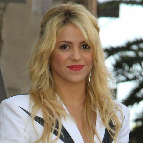 Shakira chevalier de l'ordre des Arts et des Lettres