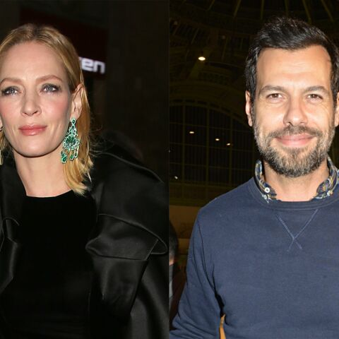 Laurent Lafitte et Uma Thurman ensemble au cinéma