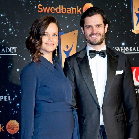 Sofia de Suède très enceinte au bras de Carl-Philip