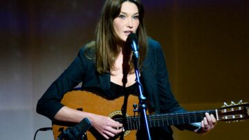 Carla Bruni-Sarkozy fait son come-back
