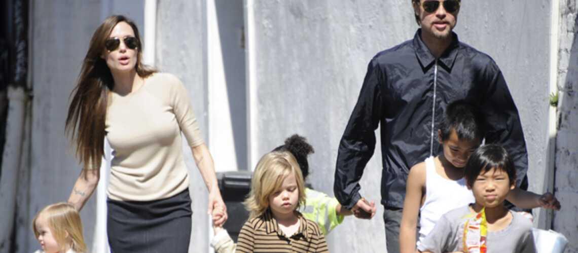 Brad Pitt et Angelina Jolie: pas touche aux joujoux de Maddox