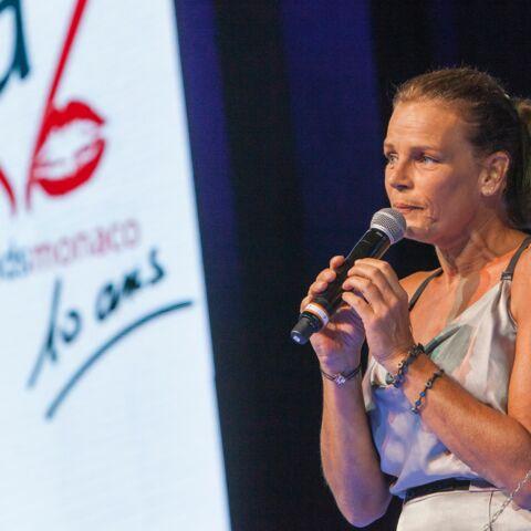 Stéphanie de Monaco radieuse pour les 10 ans de Fight Aids Monaco