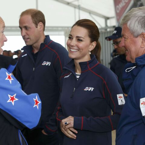 Kate et William de passage à la Coupe de l'America