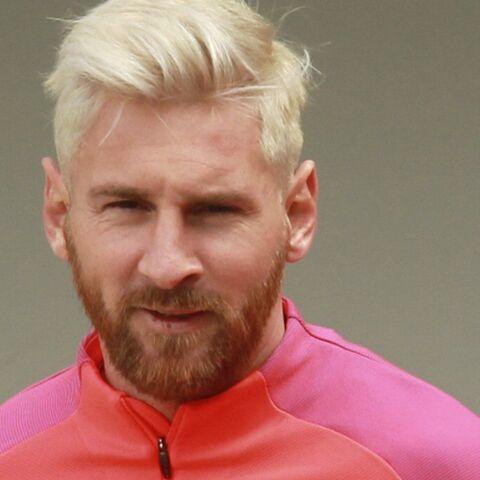 Lionel Messi assume le blond