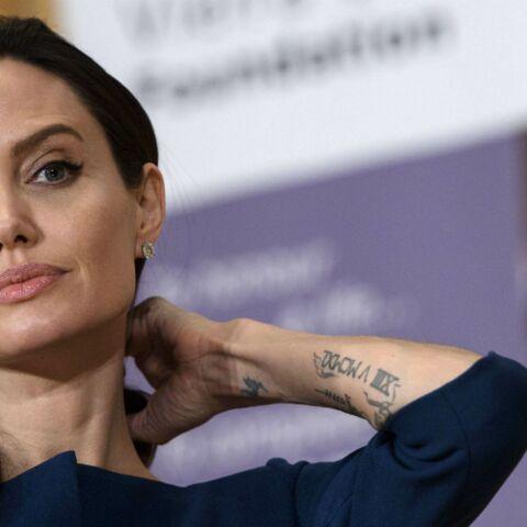 PHOTO – Angelina Jolie paralysée du visage, l'actrice se confie neuf mois après son divorce